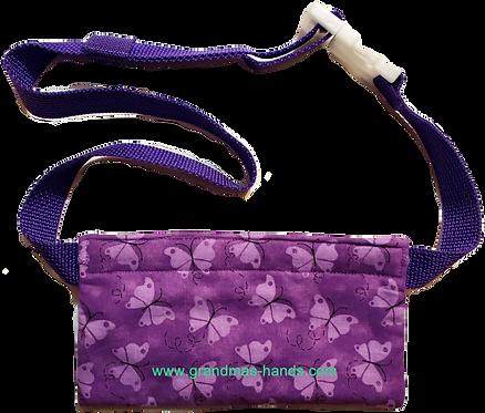 Lilac Butterflies - EpiPen® Pouch