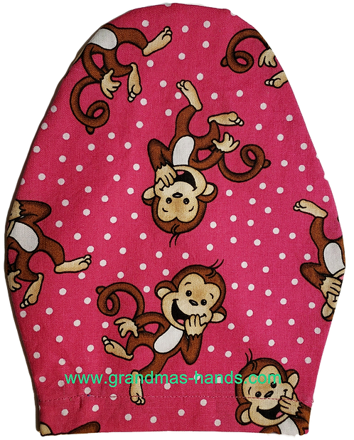 Happy Monkies - Children's Urostomy Bag Cover