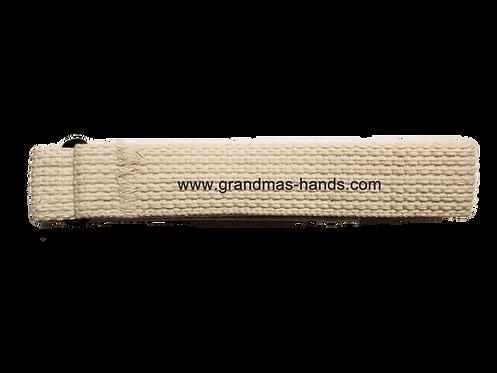 Beige Belt with Velcro Fastener - Insulin Pump Pouch Belt