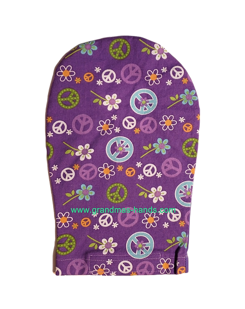 Purple Peace - Adult Ostomy Bag Cover