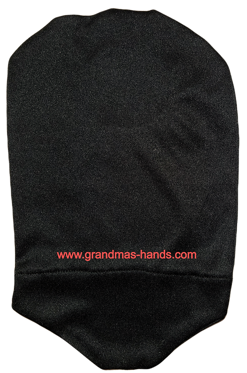 Black - Adult Stretchy Urostomy Bag Cover
