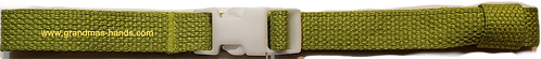 Lime Belt with White Buckle - Insulin Pump Pouch Belt