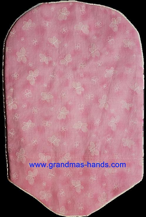Pink Butterflies- Adult Urostomy Bag Cover