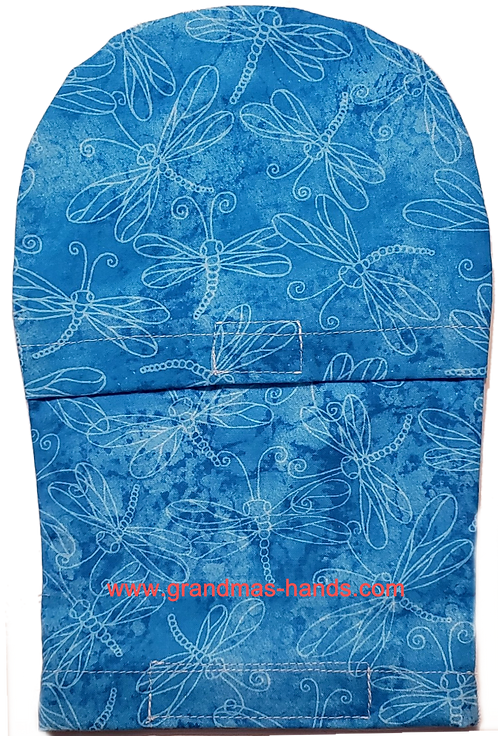 Dragonfly Velcro'd - Adult Peek-a-Boo Ostomy Bag Cover