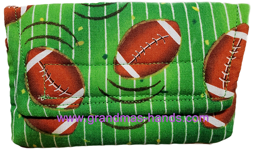 Football - Insulin Pump Pouch