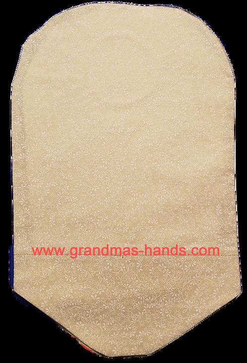 Beige Floral - Adult Urostomy Bag Cover