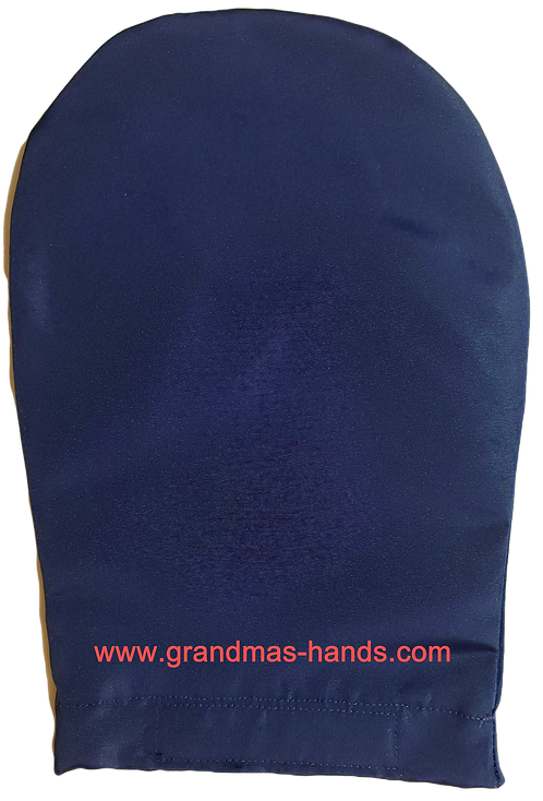 Navy - Adult Satin Ostomy Bag Cover