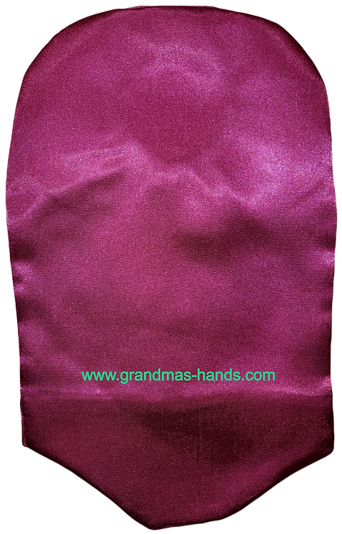 Pink - Adult Satin Urostomy Bag Cover