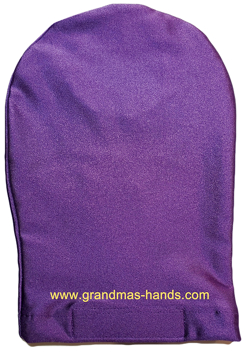 Purple - Adult Stretchy Ostomy Bag Cover