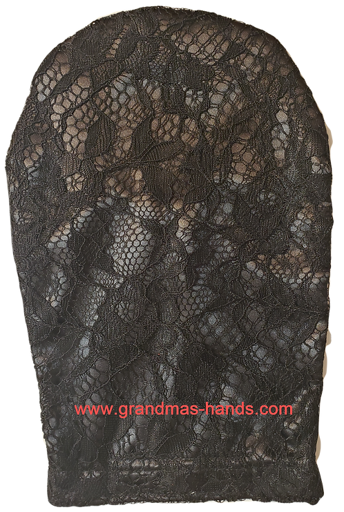 Grey Lacy - Adult Satin Ostomy Bag Cover