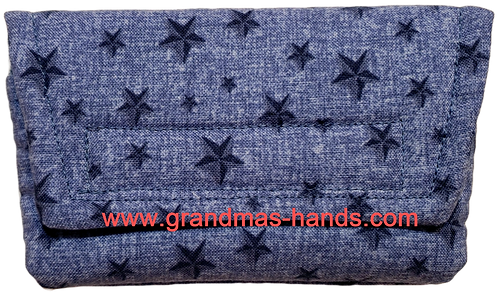 Denim Stars - Insulin Pump Pouch