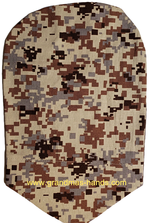 Brown Camo - Adult Urostomy Bag Cover
