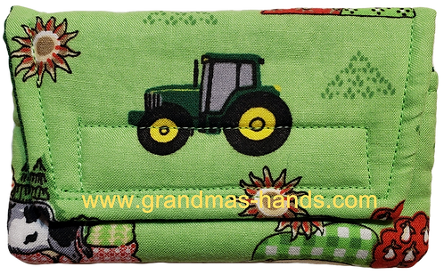 Farm Tractor - Insulin Pump Pouch