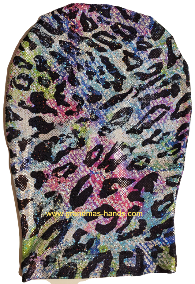 Multi-Coloured Sparkles Stretchy Ostomy Bag Cover