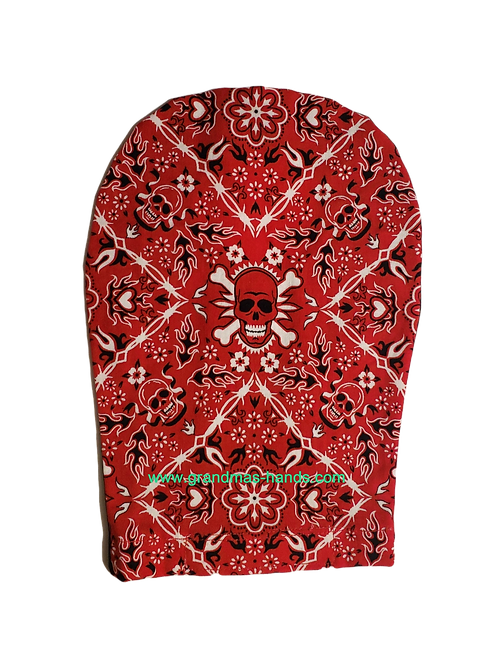 Red Skeleton - Adult Ostomy Bag Cover