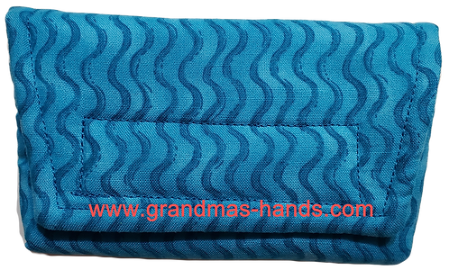 Turquoise Waves - Insulin Pump Pouch
