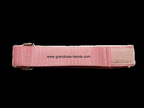 Light Pink Belt with Velcro Fastener - Insulin Pump Pouch Belt