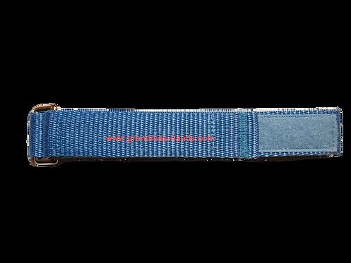 Light Blue Belt with Velcro Fastener - Insulin Pump Pouch Belt