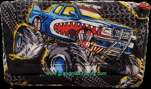 Monster Truck - Insulin Pump Pouch