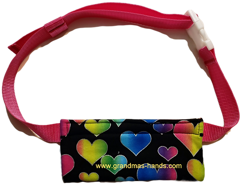 Rows of Hearts  - EpiPen® Pouch