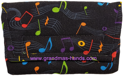 Coloured Musical Note - Insulin Pump Pouch