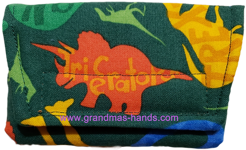 Triceratops - Insulin Pump Pouch