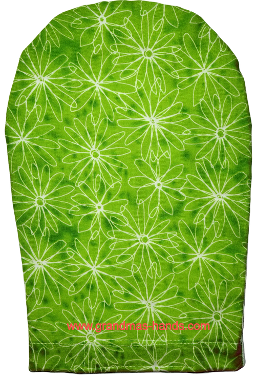 Green Daisies - Adult Ostomy Bag Cover