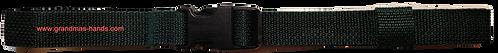 Dark Green Belt with Black Buckle - Insulin Pump Pouch Belt
