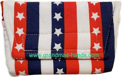 Stars and Stripes - Insulin Pump Pouch