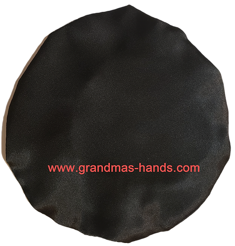 Special Times Black - Adult Satin Ostomy Bag Cover