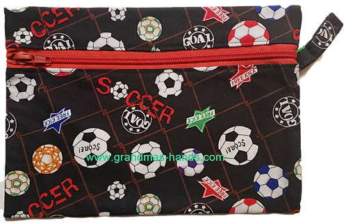 Soccer Diabetic Accessory Carrying Case