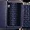 Thumbnail: Navy Blue Belt with Blue Buckle - Insulin Pump Pouch Belt
