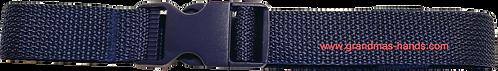 Navy Blue Belt with Blue Buckle - Insulin Pump Pouch Belt