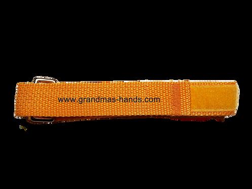 Light Orange Belt with Velcro Fastener - Insulin Pump Pouch Belt