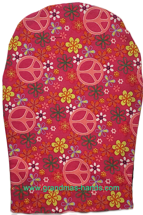 Pink Peace - Adult Ostomy Bag Cover