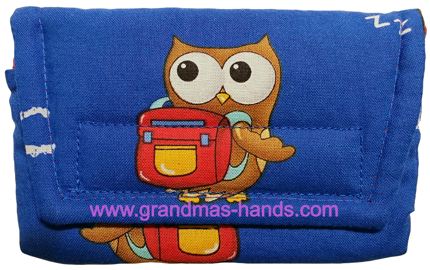 Scholarly Owl Insulin Pump Pouch