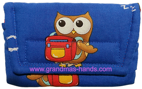 Scholarly Owl - Insulin Pump Pouch