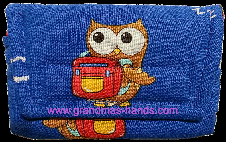 Scholarly Owl Insulin Pump Pouch