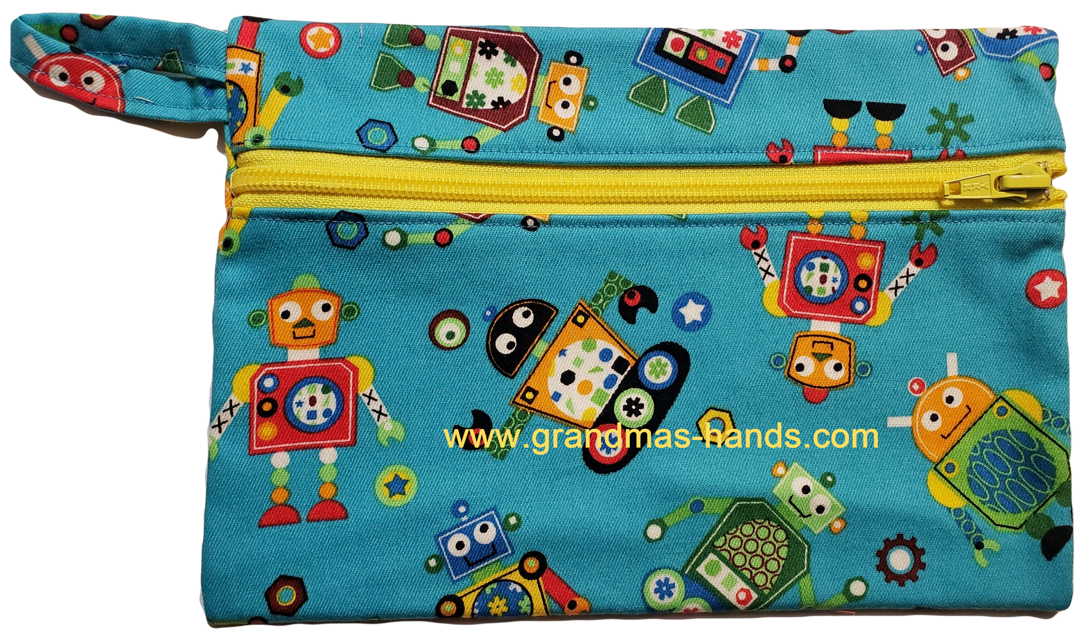 Robot Diabetic Accessory Carrying Case