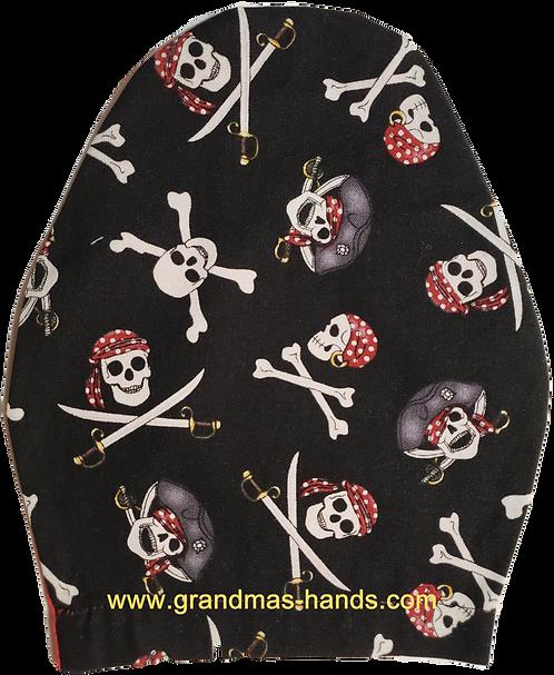 Skulls and Cross Swords - Children's Urostomy Bag Cover