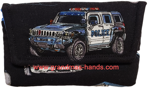 Police SUV - Insulin Pump Pouch