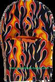Flame Peek-a-Boo Ostomy Bag Cover