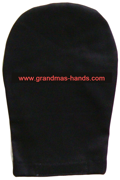 Black - Adult Ostomy Bag Cover