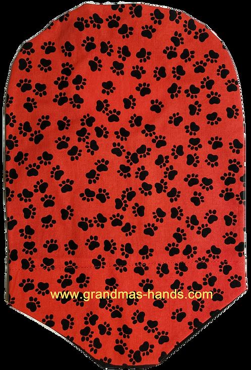 Black Paws - Adult Urostomy Bag Cover