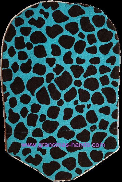 Black Animal Spots - Adult Urostomy Bag Cover