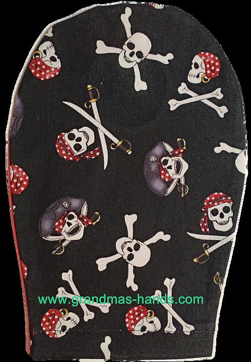 Skull and Cross Swords - Childrens Ostomy Bag Cover
