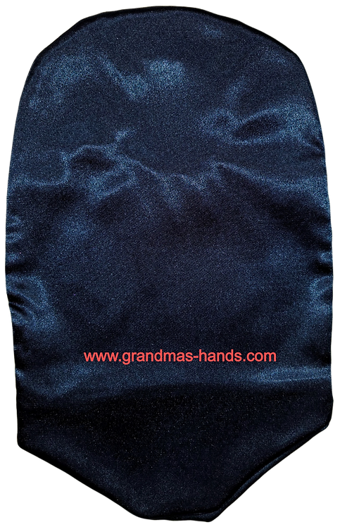 Navy - Adult Satin Urostomy Bag Cover