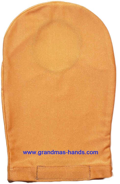 Burnt Orange - Adult Satin Ostomy Bag Cover