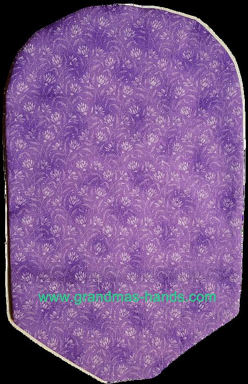 Posies on Purple - Adult Urostomy Bag Cover