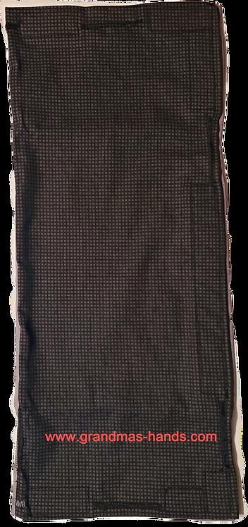 Black Check - Biliary/Drainage Bag Cover